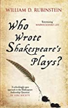Who Wrote Shakespeare's Plays? by…