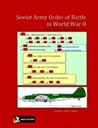 Soviet Army Order of Battle in World War II…