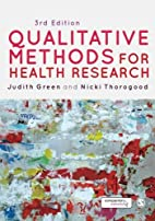 Qualitative Methods for Health Research…