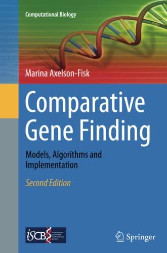 comparative-gene-finding-models-algorithms-and-implementation-computational-biology
