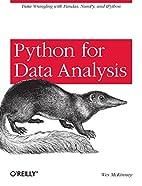 Python for Data Analysis: Data Wrangling…