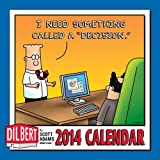 "Adams, Scott: Dilbert 2014 Mini Wall Calendar: I Need Something Called a ""Decision."""