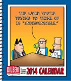 "Adams, Scott: Dilbert 2014 Weekly Planner Calendar: The Word You're Trying to Think of Is ""Indispensable."""