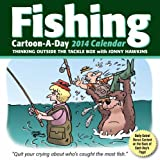 Hawkins, Jonny: Fishing Cartoon-a-Day 2014 Calendar: Thinking outside the tackle box
