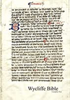 Wycliffe Bible by Wycliffite Translators