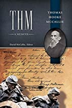 Thm A Memoir by David McCallie