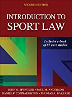 Introduction to Sport Law With Case Studies…