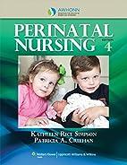 AWHONN's Perinatal Nursing (Blueprints…