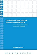 Christian Doctrine and the Grammar of…
