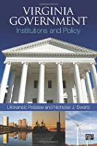 Virginia Government: Institutions and Policy…