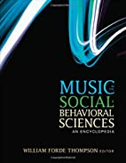 Music in the Social and Behavioral Sciences:…