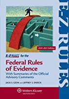 E-Z Rules for the Federal Rules of Evidence…