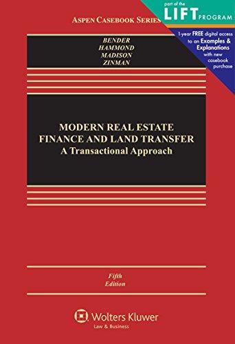 modern-real-estate-finance-and-land-transfer-a-transactional-approach-aspen-cass