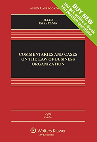 commentaries-and-cases-on-the-law-of-business-organizations-connected-cas-aspen-cas-series