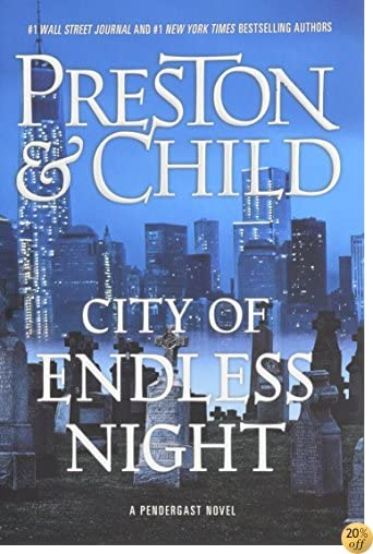 TCity of Endless Night (Agent Pendergast series)