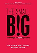 The small B!G: small changes that spark big…