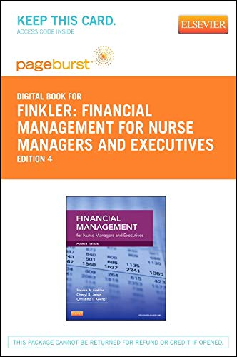 financial-management-for-nurse-managers-and-executives-elsevier-on-vitalsource-retail-access-card-4e
