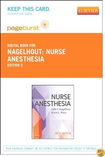 TNurse Anesthesia - Elsevier eBook on VitalSource (Retail Access Card), 5e