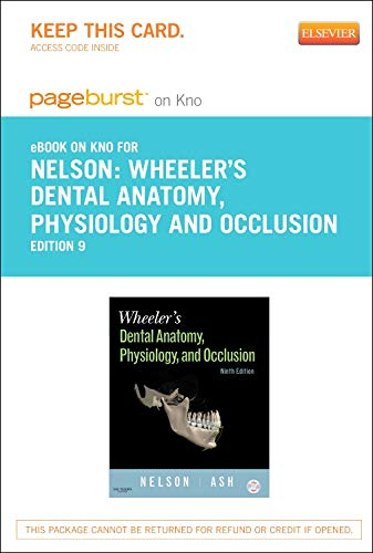wheelers-dental-anatomy-physiology-and-occlusion-elsevier-on-intel-education-study-retail-access-card-9e