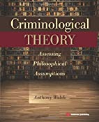 Criminological Theory: Assessing…