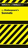 Lowers, James K.: Shakespeare's Sonnets, 1st Edition (Cliffs Notes Series)