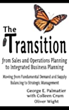 The Transition from Sales and Operations…