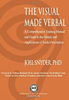 The Visual Made Verbal: A Comprehensive…