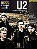 U2: U2 - Bass Play-Along Volume 41 (Book/CD) (Hal Leonard Bass Play-Along)
