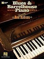 Blues & Barrelhouse Piano - Book/DVD Edition…