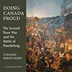 Doing Canada Proud: The Second Boer War and…