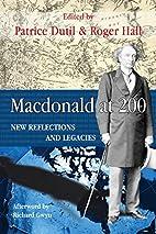 Macdonald at 200: New Reflections and…