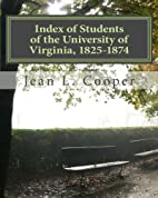 Index of Students of the University of…