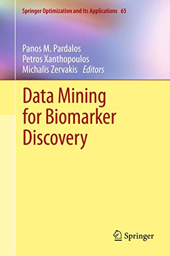 data-mining-for-biomarker-discovery-springer-optimization-and-its-applications