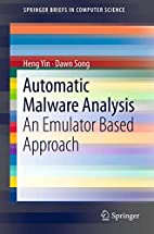 Automatic Malware Analysis: An Emulator…