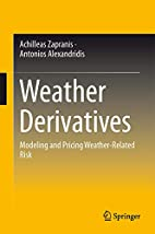 Weather derivatives modeling and pricing…