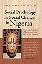 Social Psychology and Social Change in…