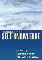 Handbook of Self-Knowledge by Simine Vazire…