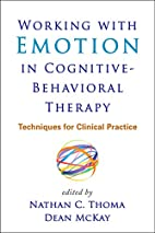 Working with Emotion in Cognitive-Behavioral…