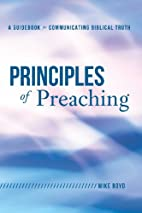 Principles of Preaching: A Guidebook for…