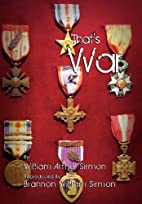 That's War by William Arthur Sirmon