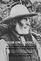 Their Own Voices: Oral Accounts of Early…