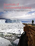 Essentials of Environmental Science by…