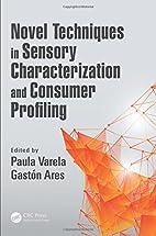 Novel Techniques in Sensory Characterization…