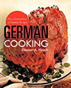 German Cooking: Five Generations Of Family…