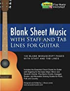 Blank Sheet Music with Staff and Tab Lines…