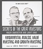 Lowenstein, Roger: Fundamental Analysis, Value Investing and Growth Investing (Secrets of the Great Investors)