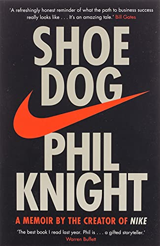 Cover of Shoe Dog by Phil Knight