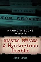 Mammoth Books presents Missing Persons and…