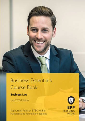 business-essentials-business-law-study-text