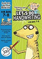 Let's do Handwriting 7-8 (Andrew Brodie…